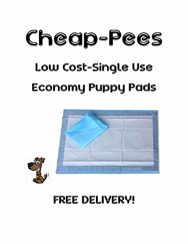 Cheap-Pees Low Cost Economy Puppy Training/Under Pads 17x24