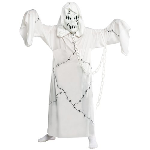 Ghost Costumes - Cool Ghoul Costume, Large