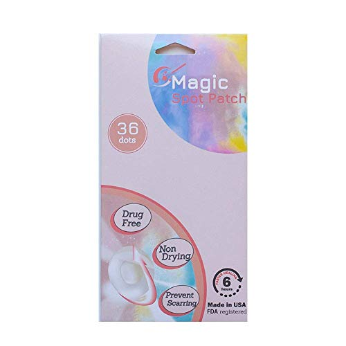 Magic Spot Patch Hydrocolloid Clear Pimple Absorbing Acne Patch - 36 patches