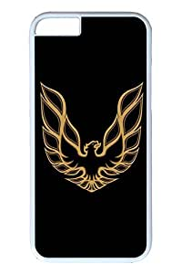 iPhone 6 Case - Protective Armor Hard Back Case for iPhone 6 Firebird Car Logo 2 Exact Fit High Quality White Hard Cases for iPhone 6 4.7 Inches