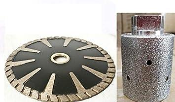 1 3 8 Diamond Zero Tolerance Grinding Drum 5 Diamond Convex