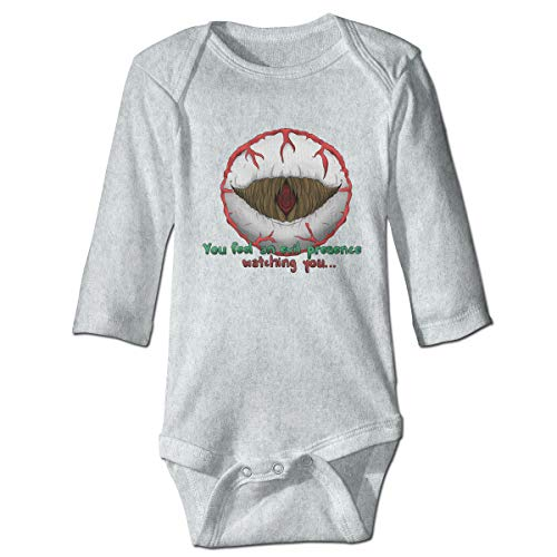Price comparison product image Newborn Baby Cotton Jumpsuit Funny Bodysuits for 0-2Toddler Eye of Cthulhu Terraria Baby Onesies Gray