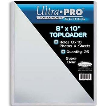 8x10 photo top loaders - 1