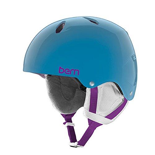 Bern - Youth Diabla Snow Helmet 2016, Translucent Light Blue, M-L