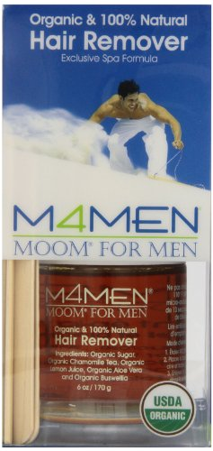MOOM HAIR RMVL,OG2,SYS FOR MEN, 6 OZ