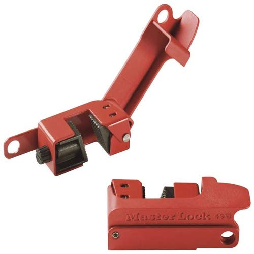 Master Lock 491B, Grip Tight Circuit Breaker Lockout (Pack of 24 pcs)