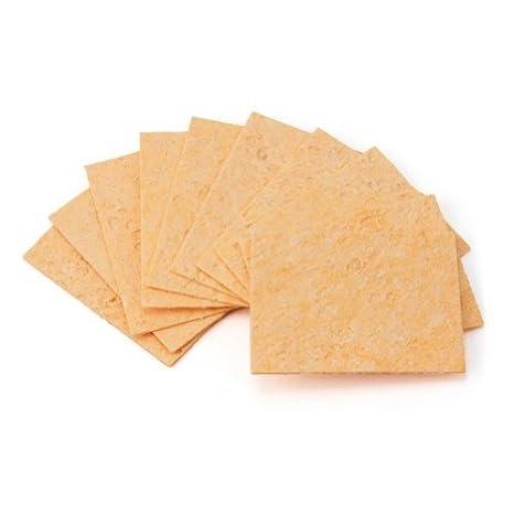 10 x Nuevo Esponja Resistente Al Calor Para Limpieza Limpiar Soldadura Soldador: Amazon.es: Hogar
