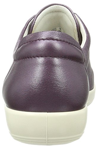 Ecco Soft 2.0, Zapatos de Cordones Derby para Mujer Violett (1276MAUVE)