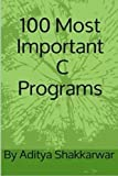 100 Most Important C Programs