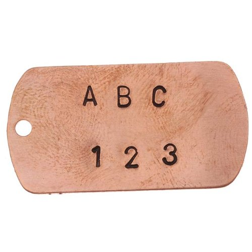 36 Piece Letter /& Number Punch Set For Stamping Metal 1//8 Inch 3mm 1 Set