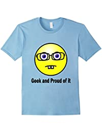Geek and Proud of It T-shirt, Geek, Emoji, Technical Smart