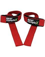 """Bear KompleX Professional Grade 18 """"Pols Support Band Wraps(1 paar) voor gewichtheffen, Cross Training, Workout, Powerlifting -Stabilizer Grip voor Rechts/Links w, Duimhaken, Brace voor Mannen & Vrouwen"""