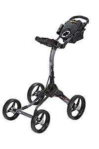 Bag Boy Quad XL Push Cart Battleship Gray/Black Fade