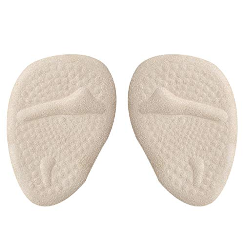 LiboboBall of Foot Cushions Metatarsal Pads Metatarsal Cushion High Heel Inserts (A)