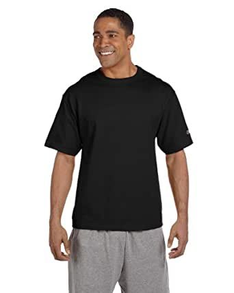 Champion 7 oz Cotton Heritage Jersey T-Shirt in Black - XXX-Large