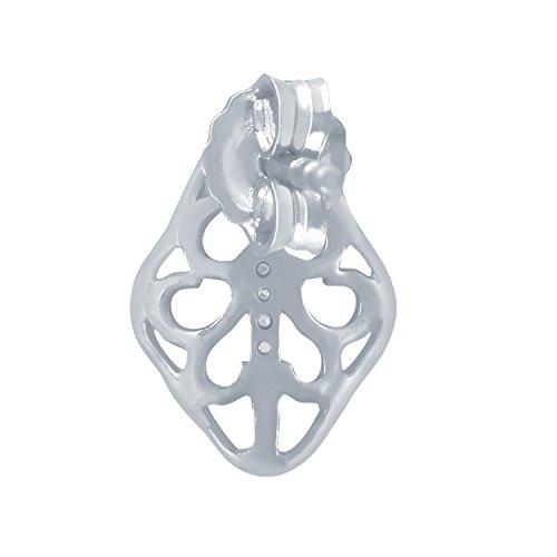 Giantti Diamant Pendentif Femme Collier (0.036CT, qualité HSI, Gh-colour)
