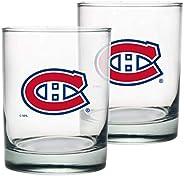 Montreal Canadiens Rocks Glass Set