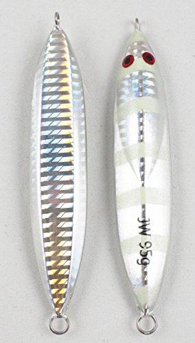 Jigging World Water Bug Micro Jigs-75g-Silver/Glow (Bug World)