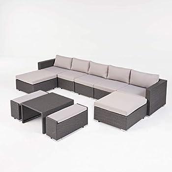 Amazon.com: Great Deal Furniture Denise - Sofá de aluminio ...