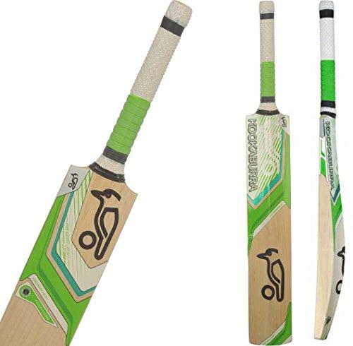 2017 Kookaburra Kahuna 500 English Willow Short Handle Cricket - Edge Kookaburra Blade