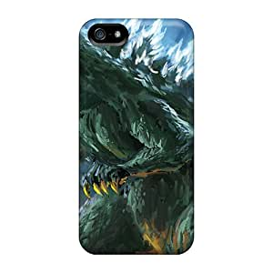 New Cute Funny Godzilla Case Cover/ Iphone 5/5s Case Cover