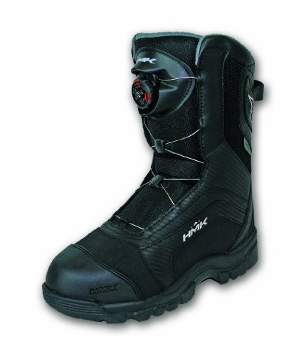 Hmk Snowmobile Boots (HMK Men's Voyager Boa Boots (Black, Size 7))
