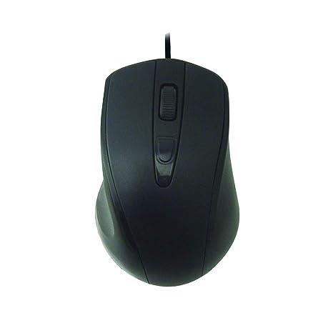 Mouse Usb Óptico Led 1000 Dpis Preto Mo-d433 K-mex