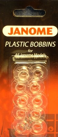 New Home Bobbin - Janome Plastic Bobbins for All Janome Home Use Models