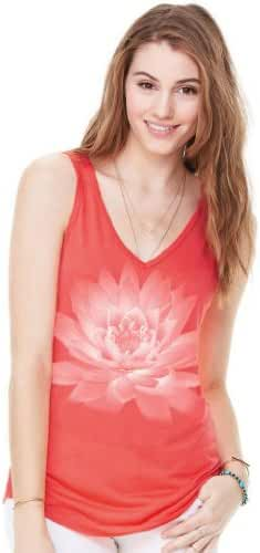 Yoga Clothing For You Ladies Lotus Flower Flowy Tank Top