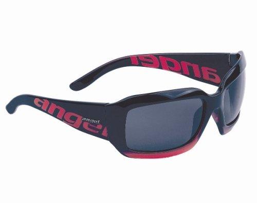 Angel Women's Peace Resin Sunglasses,Halo Red Frame/Smoke Lens,one - Eyewear Angel
