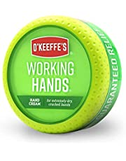 O'Keeffe's - Working Hand Cream - 3.4 oz - Green - 96 Gram Jar