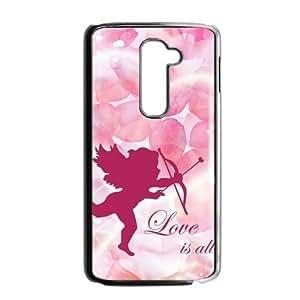 DIY Design Cupid Cherub Pattern Custom Case for LG G2 by icecream design