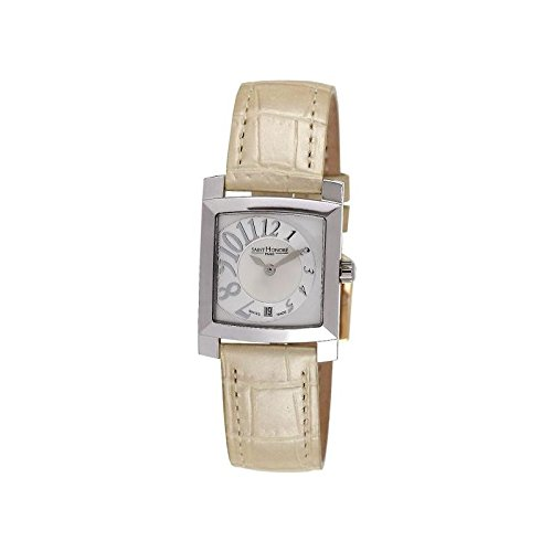 Reloj mujer Saint Honoré modelo Orsay plateado y beige - 731027 1YBB: Amazon.es: Relojes
