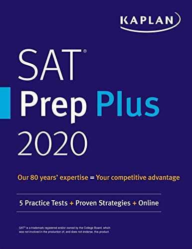 SAT Prep Plus 2020: 5 Practice Tests + Proven Strategies + Online (Kaplan Test Prep) (English Edition)