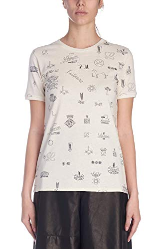 T Loewe shirt Bianco Donna S6199420cr2230 Cotone fxdZF6Cwxq