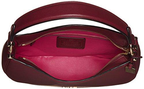 Li burgundy Leather Women's Bag Nomad Crossbody Coach pXqPa