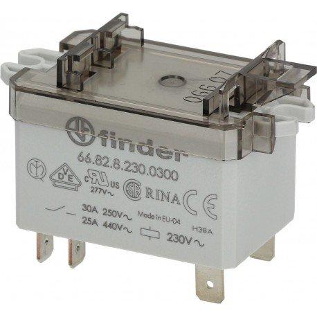Relé de potencia Finder 66.82.8.230.0300 Cod. 3351032: Amazon.es