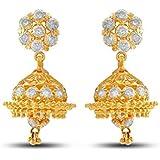 P.N.Gadgil Jewellers 22KT Yellow Gold Drop Earrings for Women