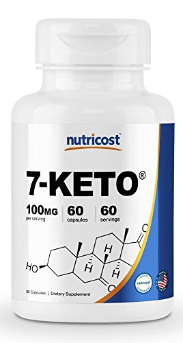 Nutricost 7 Keto DHEA 100mg Capsules product image