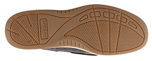 Sperry Top-Sider Frauen Angelfish 2-Augen Hafer Slip-On Loafer Dunkelgrau