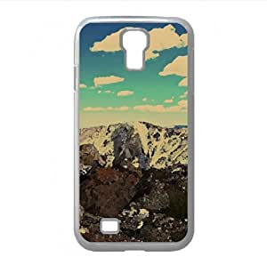 Colorado Mountain Goat Watercolor style Cover Samsung Galaxy S4 I9500 Case (Wild Watercolor style Cover Samsung Galaxy S4 I9500 Case)