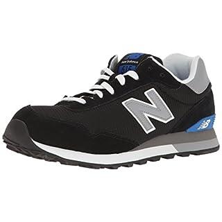 New Balance Men's 515 V1 Sneaker, Black/Grey/Royal, 7.5 D US