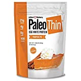 Paleo Thin Protein Powder (Pumpkin Pie) (30 Servings) 4 Carbs 0g Sugar Monk Fruit Sweetened (Egg White) 1.86 lbs