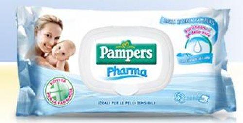Pampers Pharma 3 Confezioni Da 63 Salviettine Con Estratti Di Latte Fater-P&G