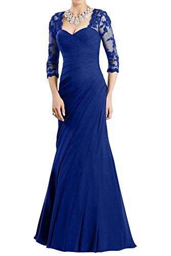 Abendkleider Dunkel Partykleider Ballkleider Neu Rot La Elegant Braut mia Damen Dunkel Royal Lang Blau Abschlussballkleider fesltichkleider AzqAOUXWwx