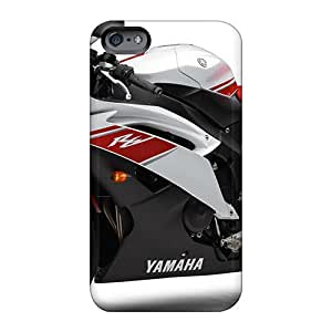 Great Hard Phone Cover For Apple Iphone 6s Plus (eDG169pArP) Unique Design Nice Yamaha R6 2009 Model Skin