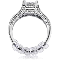 Ring Size Adjuster with Jewelry Polishing Cloth,3 Sizes...