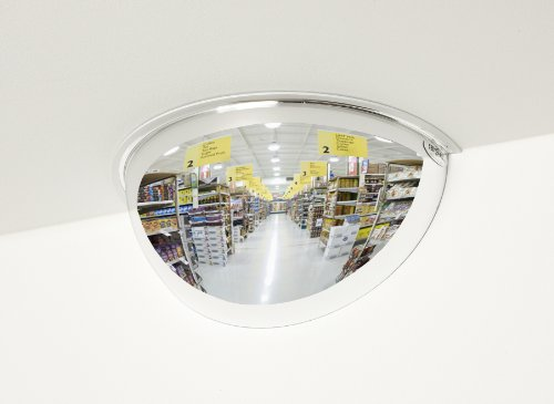 See All Industries, Inc. PV26180 Half-Dome Convex Security Mirror, 26 (Half Dome Convex Mirror)