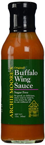 - Archie Moore's Buffalo Wing Sauce, 12 oz