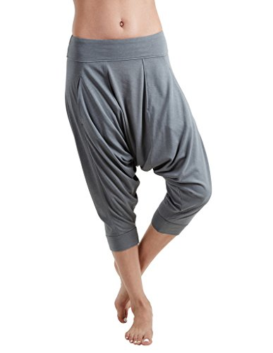 Proyog Women's Yoga Dhoti Pants Small Balsam Green Green Label Organic Support